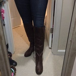 NWT. Lucky Brand Knee High Boots
